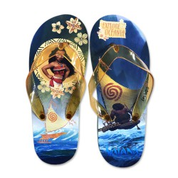 debd175f9ac0 Send to a friend. SLIPPERS Thongs MOANA and MAUI Flip Flops Girl DISNEY ...