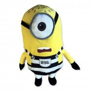 MINION PRISONER Number 096 Plush 30cm JAIL from DESPICABLE ME 3 Original MINIONS