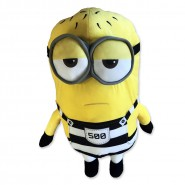 MINION PRISONER Number 500 Plush 30cm JAIL from DESPICABLE ME 3 Original MINIONS
