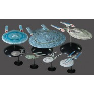 STAR TREK Box SET 7 Diversi Modellini ENTERPRISE 1/2500 Kit Montaggio AMT 954