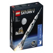 Model SATURN V Apollo NASA Playset LEGO IDEAS 21309