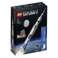 Modello SATURN V Apollo NASA Playset Costruzioni LEGO IDEAS 21309
