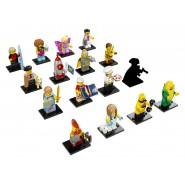 SERIE 17 Mini LEGO Figures 71018 Set Completo 16 FIGURE Nuove BUSTINA