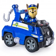 PAW PATROL Playset Veicolo CHASE Versione TOW TRUCK con GRU Originale SPIN MASTER Basic