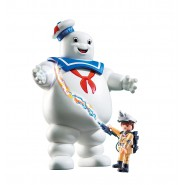 Playset MARSHMALLOW MAN and STANTZ From GHOSTBUSTERS Playmobil 9221