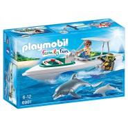 Playset MOTOSCAFO SUB con DELFINO Playmobil 6981 Family Fun