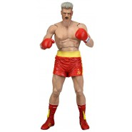 Action Figure 18cm IVAN DRAGO with RED TRUNKS Rocky 40th Anniversary SERIE 2 Neca
