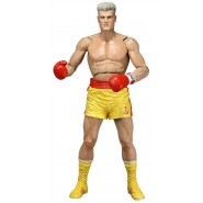 Figura Action 18cm IVAN DRAGO Pantaloncini GIALLI Rocky 40th Anniversario SERIE 2 Neca