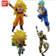 DRAGONBALL SUPER Set Completo 4 FIGURE Collezione BATTLE FIGURES SERIES 03 Bandai Gashapon