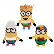 FREEDONIAN MINIONS Freedonians SET 3 Different PLUSHIES 17cm from DESPICABLE ME 3