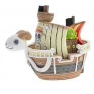 Mini Money Bank GOING MERRY Ship ONE PIECE Original Official PLASTOY