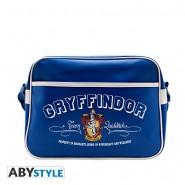 HARRY POTTER Borsa Tracolla GRIFONDORO Quidditch BLU 38x29cm Messenger Bag