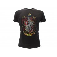 HARRY POTTER T-Shirt Jersey GRYFFINDOR House LOGO Warner Bros Official