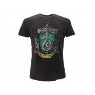 HARRY POTTER T-Shirt Maglietta STEMMA Casa SERPEVERDE Logo UFFICIALE Warner Bros