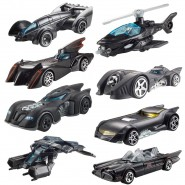 BATMAN Set 8 Modellini BATMOBILE 1:64 Dark Knight 75th Anniversary HOT WHEELS