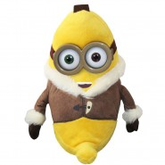 MINIONS MOVIE 2015 Peluche BOB BANANA Minion Antartide 30cm Originale UFFICIALE