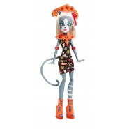 Figura Action ELISSABAT Bambola 27cm MONSTER HIGH Serie GHOUL FAIR Mattel CHW71