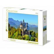 PUZZLE in 6000 Pezzi CASTELLO DI NEUSCHWANSTEIN Castle MUSEUM COLLECTION Clementoni 36520