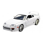 FAST & FURIOUS Model BRIAN'S TOYOTA SUPRA White 1:24 Original JADA Collector's Series
