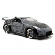 FAST & FURIOUS Model D.K.'S NISSAN 350Z Grey 1:24 Original JADA Collector's Series