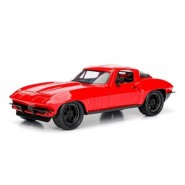 FAST & FURIOUS Model LETTY'S CHEVY CORVETTE Red 1:24 Original JADA Collector's Series