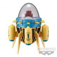 DRAGONBALL Modellino MACCHINA DEL TEMPO Time Machine BANPRESTO Mega WCF Super Z Gt
