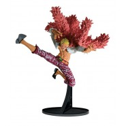 ONE PIECE Figura Statua DONQUIJOTE DOFLAMINGO Color version 18cm BANPRESTO Colosseum SCultures BIG 6