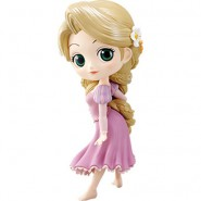 Figure Statue 14cm RAPUNZEL Tangled PASTEL Version QPOSKET Banpresto DISNEY