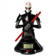 ALARM CLOCK Watch LIGHTSABER of The Inquisitor 25cm from STAR WARS Light OFFICIAL Disney