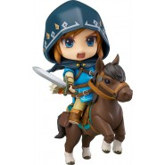 ZELDA Action Figure LINK BREATH OF THE WILD Deluxe DX Version NENDOROID 733-DX Good Smile