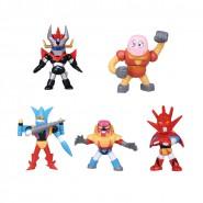 GO NAGAI Collection Vol. 3 SET Completo 5 Mini FIGURE ROBOT Tomy MAZINGA GETTER DRAGON BOSS Gashapon JAPAN