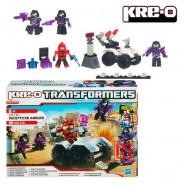 TRANSFORMERS Kit Costruzioni DECEPTICON AMBUSH Hasbro KRE-O 80 Pezzi