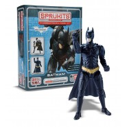 BATMAN DARK KNIGHT RISES Figura Action KIT 10cm LEVEL 1 SPRUKITS Bandai 35652