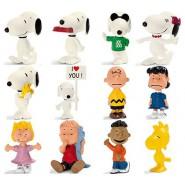 Complete SET 12 Figures 5cm PEANUTS Snoopy And Friends Original Schleich