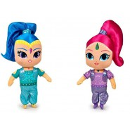 SET COMPLETO 4 Peluche SHIMMER AND SHINE Tala Nahal 20cm Originali NICKELODEON Plush