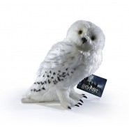 HARRY POTTER Peluche Grande DELUXE Originale 30cm EDVIGE Hedwig Civetta NOBLE COLLECTION Ufficiale