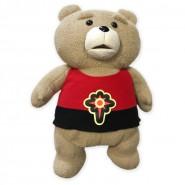 TED ORSO VOLGARE con Maglietta FLASH GORDON Raro PELUCHE Gigante 55cm Taito JAPAN