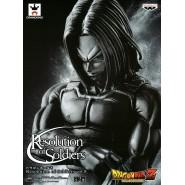 DRAGONBALL Z Figura TRUNKS Versione BLACK 18cm RESOLUTION OF SOLDIERS Vol. 5 Banpresto