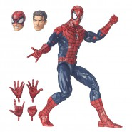 UOMO RAGNO Figura Deluxe Action 30cm SPIDER-MAN Marvel LEGENDS Hasbro B7450