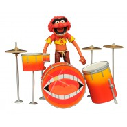 The MUPPETS Figure Diorama ANIMAL With DRUMSET Original Diamond SELECT