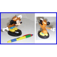RARA Figura 10cm TOPOLINO Mickey Mouse DETECTIVE Disney De Agostini 3D Collection SERIE 1