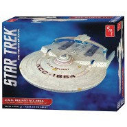 STAR TREK Modellino Kit ENTERPRISE NCC-1864 U.S.S. RELIANT Scala 1:537 AMT 1036