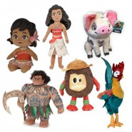 Movie OCEANIA Original Plush 25cm CHOOSE THE CHARACTER Vaiana Moana Maui Pua HeiHei DISNEY