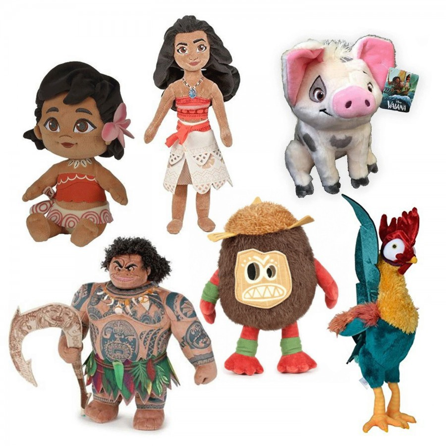 69c36a710438 Plush from DISNEY 2016 Movie MOANA Vaiana 25cm Original OFFICIAL Beanie  VAIANA ...