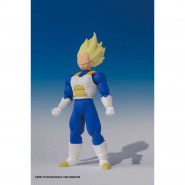 DRAGONBALL Z Figura VEGETA SUPER SAIYAN Action Snodabile 7cm SHODO Originale BANDAI