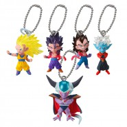 DRAGONBALL Complete SET 5 Mini FIGURES Collection UDM Burst BEST 17 DANGLER Bandai Gashapon Dragon Ball