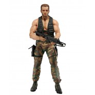 Figura Action 18cm JUNGLE ENCOUNTER DUTCH Serie 30. Anniversario NECA Schwarzenegger