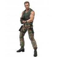 PREDATOR Figura Action 18cm JUNGLE PATROL DUTCH Serie 30. Anniversario NECA Schwarzenegger