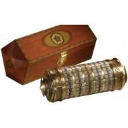 Replica CRYPTEX Dan Brown Film CODICE DA VINCI Grande Scala 1:1 Noble Collection BOX