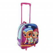 SHIMMER AND SHINE Baby TROLLEY with Backpack 31x25x10cm ORIGINAL School Sport